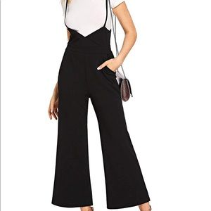 Pants - High Waist Jump Suit